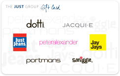 The Just Group gift card